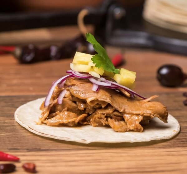 tacos de carne al pastor yamex yatecomere